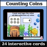 Boom Cards MONEY Counting Coins