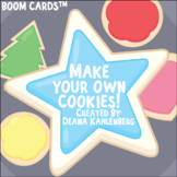 Boom Cards™️ Make Your Own Cookies!