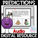 Boom Cards Making Predictions Reading Comprehension