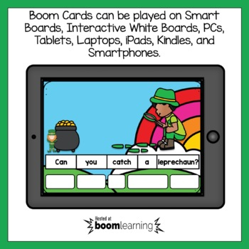 Boom Cards March Sentence Scrambles