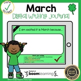 Boom Cards March Writing Journal