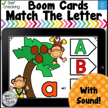 Boom Cards Match The Alphabet - Coconut