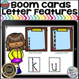 Boom Cards Matching Letter Features