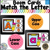 Boom Cards Matching Upper and Lowercase Letters