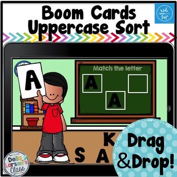 Boom Cards Matching Uppercase Letters