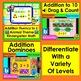 Boom Cards Math - Addition Bundle: Kindergarten and First Grade: Differentiate!