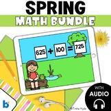 Boom Cards Math Bundle Second Grade Spring