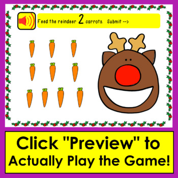 Boom Cards™ Math: Christmas Counting to 10 - Count as You Drag Christmas Items!