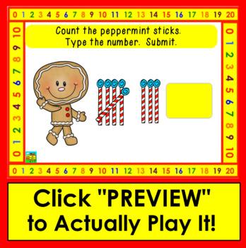 Boom Cards Math Christmas Tally Marks Counting to 10 - No Prep - Self-Correcting
