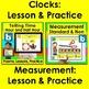 Boom Cards™ Math Concepts BUNDLE: Money, Time, Measurement, Shapes, Fractions