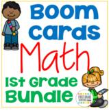 Boom Cards Math Bundle First Grade
