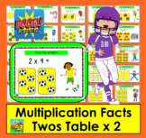 Boom Cards Math Multiplication Facts: Twos Table TYPE ANSWERS:  25 Cards