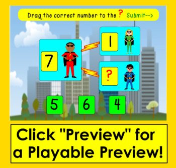 Boom Cards Math: Number Bonds to 10-Interactive Self-Checking Digital Task Cards