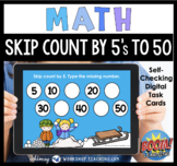 Boom Cards Math Skip Count By Fives Digital Task Cards Dis