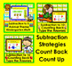Boom Cards Math Subtraction K/1 BUNDLE: 10 Decks:  Differentiate!