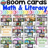 Boom Cards Math and Literacy MEGA BUNDLE