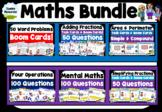 Boom Cards Maths Bundle | Grade 3-6