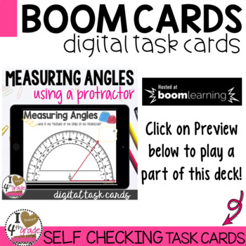 Boom Cards Measure Angles