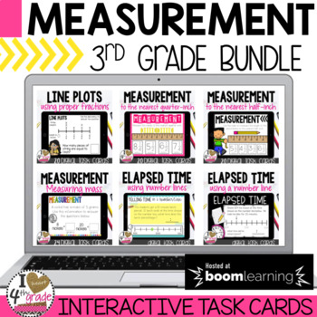 Boom Cards Measurement Bundle