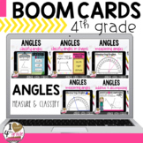 Boom Cards Measuring Angles Bundle