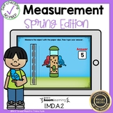 Boom Cards Measurement Non-Standard Units
