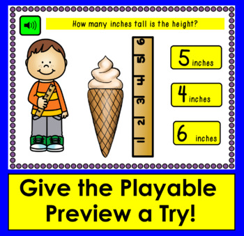 Boom Cards™ Measurement Practice: 20 Interactive Cards With Sound!