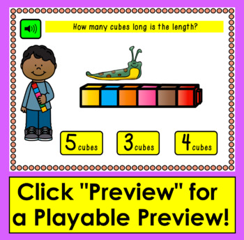 Boom Cards Math Measurement Practice: 20 Interactive Cards With Sound!