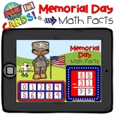 Boom Cards - Memorial Day Math Facts - Distant Learning