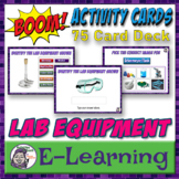 Boom Cards   Middle School Science: Science Lab Equipment