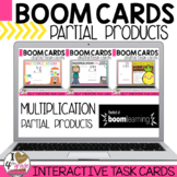 Boom Cards:  Multiplication Partial Products