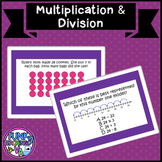 Boom Cards Multiplication and Division TEI VA SOL