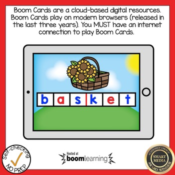 Boom Cards Multisyllabic Closed Syllable Bundle