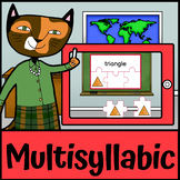 Boom Cards | Multisyllabic Words  | Phonology Speech Language Therapists