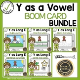Boom Cards Y as a Vowel  Bundle
