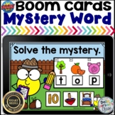 Boom Cards Mystery CVC Words with Beginning Sounds