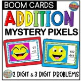 Boom Cards Mystery Pixel Addition | Distance Learning