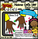 Boom Cards | Naima Gets Her Nails Done | Addition & Subtra