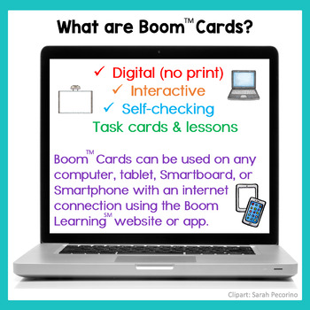 Boom Cards No Print Answering Yes/No Questions