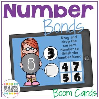 Boom Cards Number Bonds