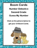 Boom Cards-Number Detective-Second Grade-Guess My Number