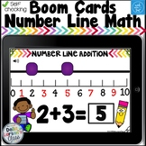 Boom Cards Number Line Addition and Subtraction