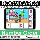 Boom Cards™ Number Order to 30 | Kindergarten Distance Learning