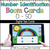 Boom Cards Number Recognition to 50