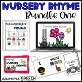 Boom Cards & Visuals: Nursery Rhyme Bundle