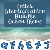 Boom Cards - Ocean Theme Letter Identification Bundle
