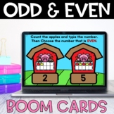 Boom Cards Odd and Even to 20
