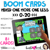 DISTANCE LEARNING | One More One Less Mixed 0-20 | BOOM Cards