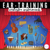 Boom Cards™ Listening and Identifying Instruments of the O