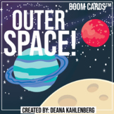 Boom Cards™️ Outer Space!