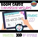 Boom Cards-PEMDAS (priorité des opérations)